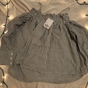 F21 Off the shoulder women's top